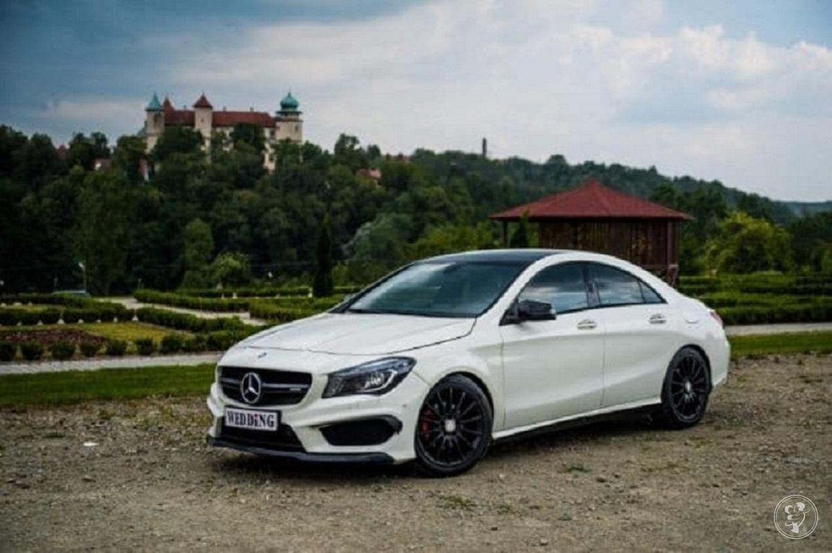 Sportowy Mercedes CLA,  pakietAMG - samochód, auto do ślubu , Brzesko - zdjęcie 1