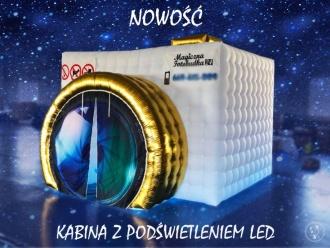 Magiczna Fotobudka- [PROMOCJA]  -  DUŻA KABINA LED [NOWOŚĆ] 2w1 - HIT, Fotobudka, videobudka na wesele Piotrków Kujawski