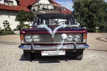 Fiat 125p / Jaguar / Polonez / Fiat 132p / Saab 99 - Retro Styl, Samochód, auto do ślubu, limuzyna Łajski