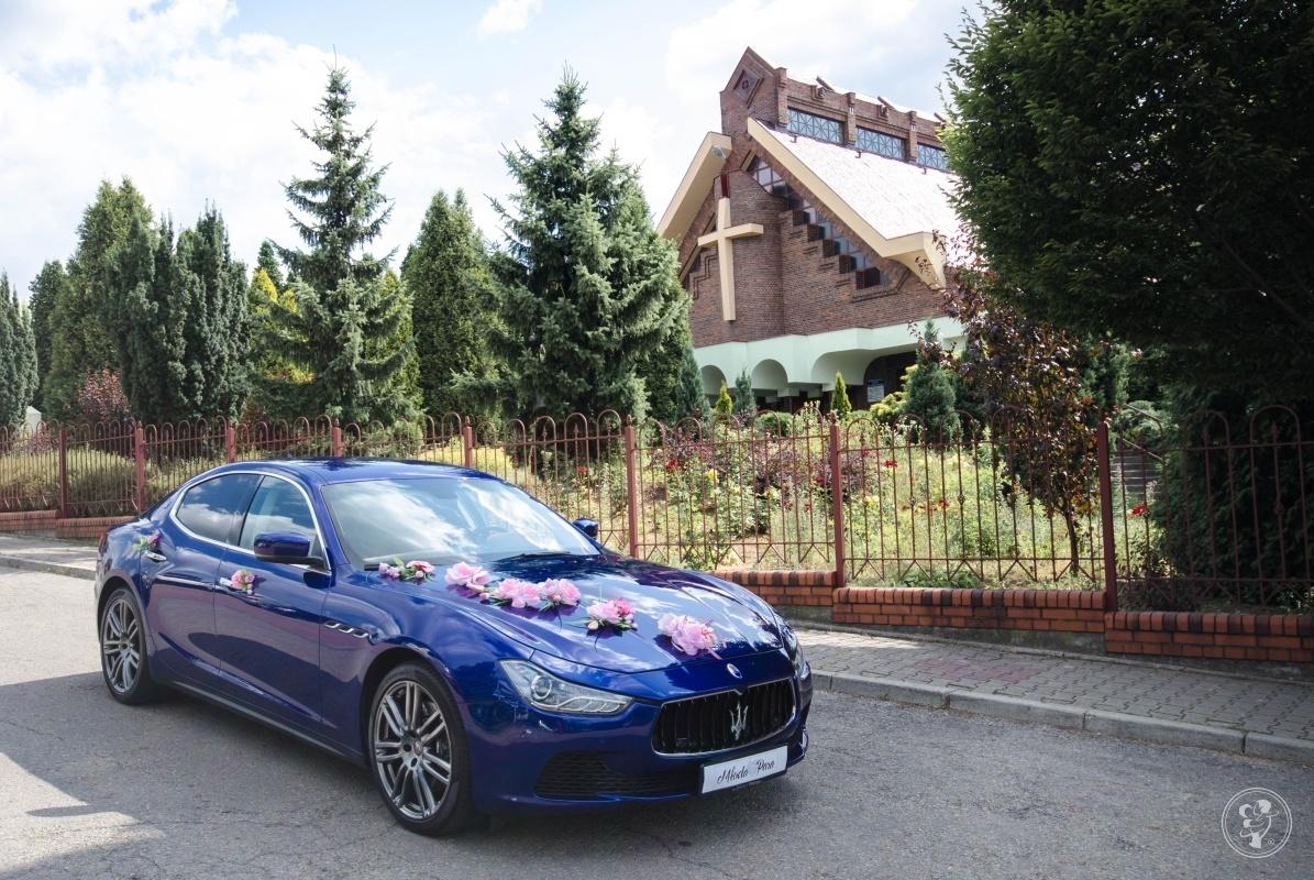 Z Maserati do ślubu, Katowice - zdjęcie 1