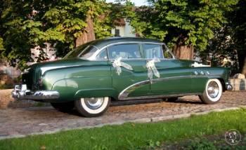 BUICK 1952 PIĘKNE AUTO DO ŚLUBU / CADILAK ELDORA, Samochód, auto do ślubu, limuzyna Kruszwica