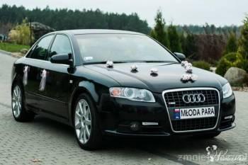 Luksusowa Limuzyna Audi CZARNA  A4 B7 S-LINE PLUS, Samochód, auto do ślubu, limuzyna Ryki