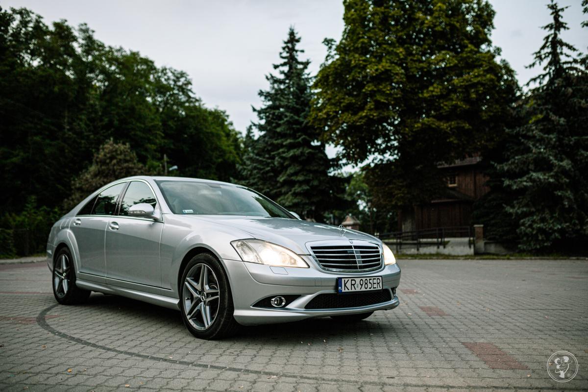 Mercedes S Klasa AMG Samochód do ślubu, Płock - zdjęcie 1