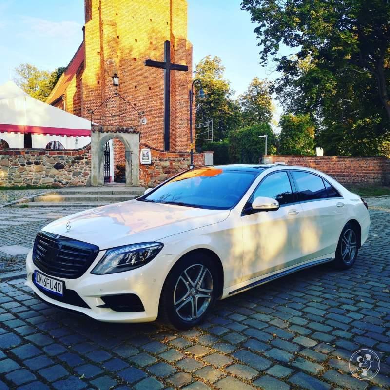 Auto do ślubu Mercedes S 500  Viva Bus Mariusz Samotyj, Wrocław - zdjęcie 1