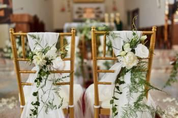 Dekoracja sali weselnej, kościoła, osobista · Peonia Handmade, Dekoracje ślubne Chełmek