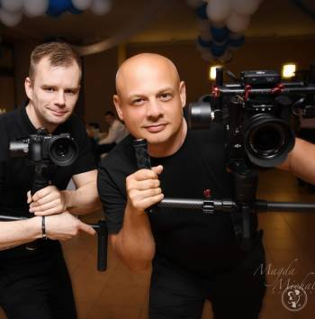 Tylko u NAS FILM + 3 TELEDYSKI + DRON GRATIS / 2 operatorów, Kamerzysta na wesele Kostrzyn nad Odrą
