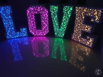 Ażurowy napis LOVE, Napis Love Bielsko-Biała