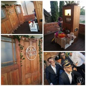 FOTOBUDKA z DMUCHANĄ kabiną lub FOTOBUDKA z DREWNA, Fotobudka, videobudka na wesele Gubin