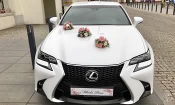 Biała Limuzyna Lexus GS F-Sport Biały, Samochód, auto do ślubu, limuzyna Kozienice