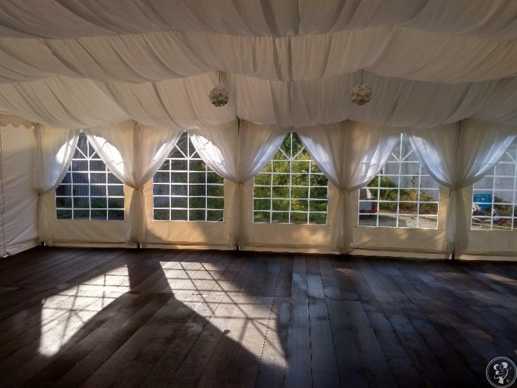 wynajem namiotu, namioty weselne, wynajem parkietu, firma Parysada, Kraków - zdjęcie 1