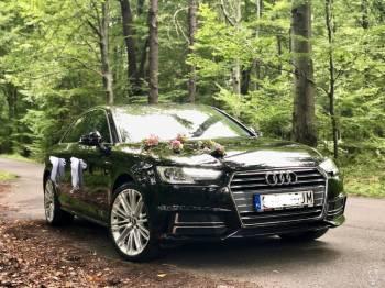 samochód auto do ślubu Audi, Samochód, auto do ślubu, limuzyna Orzesze