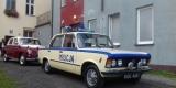 AUTO DO ŚLUBU  WARSZAWA 223 - FIAT 125P MILICJA RETRO LIMUZYNA PRL-U, Kołobrzeg - zdjęcie 3