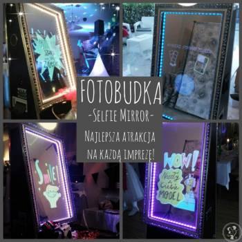 Selfie Mirror-fotobudka !!!  NAJLEPSZA JAKOŚC !!!  Drukujemy 4szt !!!, Fotobudka, videobudka na wesele Witkowo