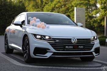 Samochód Auto do ślubu nowy Volkswagen Arteon R-line Biały, Samochód, auto do ślubu, limuzyna Poddębice