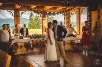 Karczma Rusiński na Szczycie Góry- wesele z widokiem na Tatry, Sale weselne Zakopane