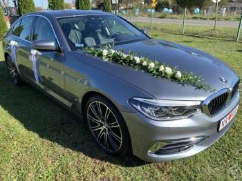 Auto do ślubu | Nowe BMW serii 5 G30 Luxury Line | 540i | 340 KM, Samochód, auto do ślubu, limuzyna Daleszyce