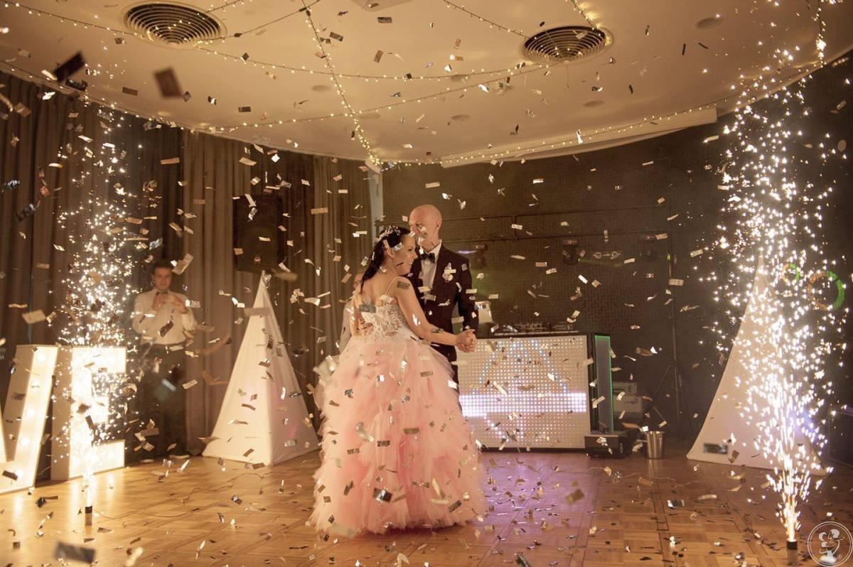 dj/wodzirej/laser show,napisy LED,pirotechnika sceniczna,konfetti,, Gorzów Wielkopolski - zdjęcie 1