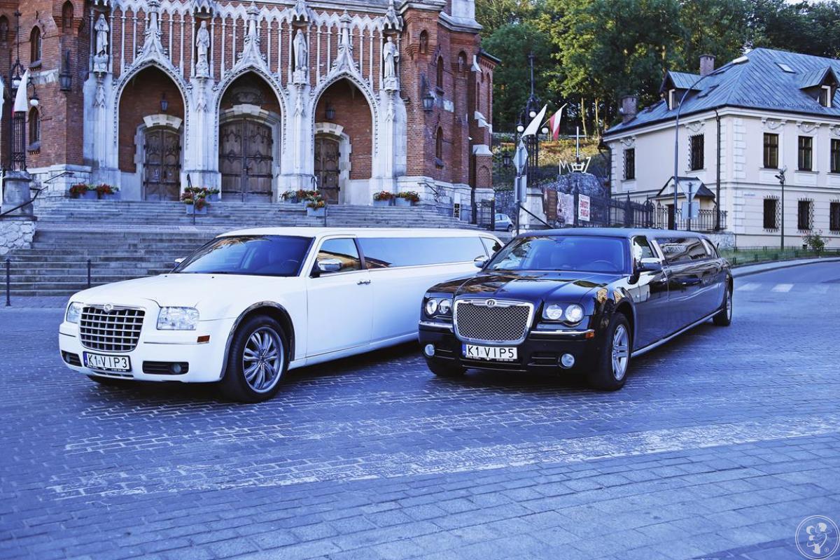 Limuzyna, Samochód do Ślubu Chrysler/Czarny Chrysler replika Bentley, Kraków - zdjęcie 1