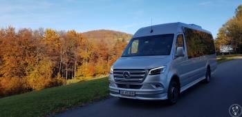 Przewóz osób Mercedes Sprinter VIP klasa 2019r., Wynajem busów Bieruń