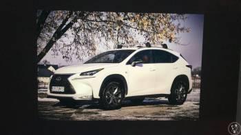 Nowy Lexus f sport czerwona skóra, Samochód, auto do ślubu, limuzyna Chełmek