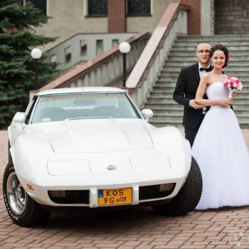 Samochód do ślubu - biała Corvette i nie tylko, Samochód, auto do ślubu, limuzyna Zator
