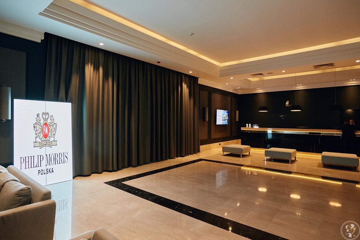 Ekran led z dowolnym motywem ślubnym - multimedia jako dekoracja, Niepołomice - zdjęcie 1