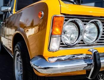 Klasyczny Ślub Wesele Fiat 125p, Samochód, auto do ślubu, limuzyna Karpacz