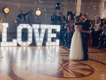 Poświetlany napis LOVE (barwa światła naturalna), Napis Love Kosów Lacki