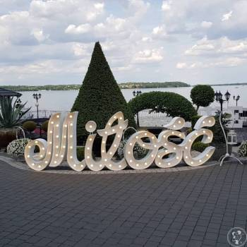 MIŁOŚĆ pisana efektowny napis ledowy, Napis Love Lublin
