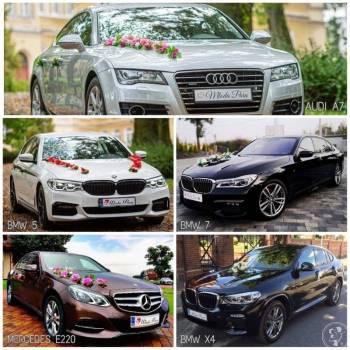 AUDI  - MERCEDES - BMW  - POLECAM !, Samochód, auto do ślubu, limuzyna Brodnica