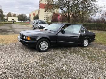 Auto zabytkowe BMW e 32 1991r, Samochód, auto do ślubu, limuzyna Łaziska Górne