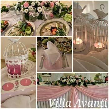 Villa Avanti cena za wesele powyżej 80 osób dorosłych 230zł/os w 2021, Sale weselne Łaskarzew
