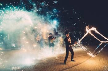 teatr ognia enigma pokazy ognia taniec z ogniem fireshow, Teatr ognia Zawiercie