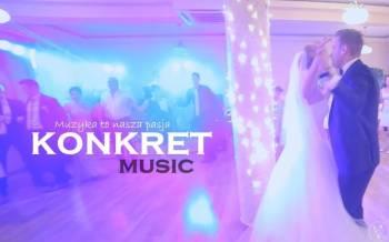 KONKRET music - zespół lub zespół + DJ, Zespoły weselne Gorlice