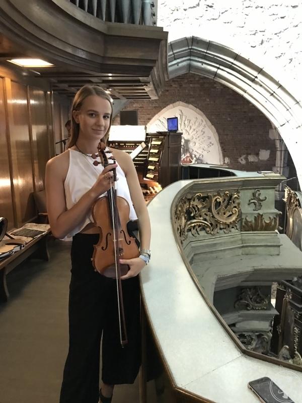 Gabriela Leżańska - skrzypce /trio smyczkowe Oprawa Muzyczna Ślubu, Kraków - zdjęcie 1