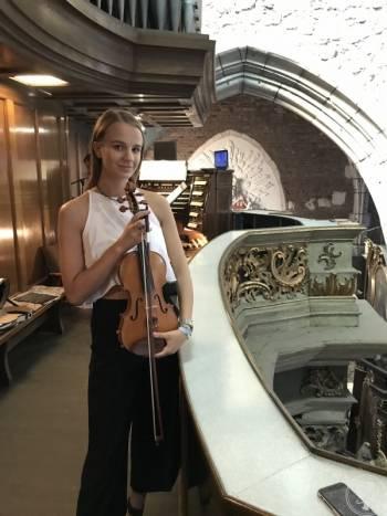 Gabriela Leżańska - skrzypce /trio smyczkowe Oprawa Muzyczna Ślubu, Oprawa muzyczna ślubu Skała