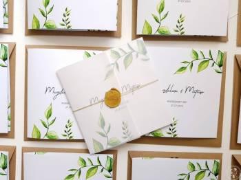 FAJNA KARTKA -wyjątkowe zaproszenia ślubne, ponad 100 wzorów, Zaproszenia ślubne Wyrzysk