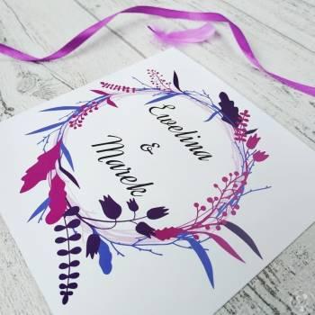 Art Vision Studio - Zaproszenia ślubne tworzone z pasją, Zaproszenia ślubne Skała