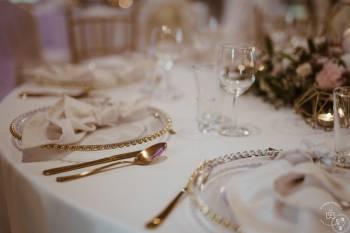 Wypożyczalnia dekoracji- ścianki ślubne, krzesła chiavari, podtalerze, Dekoracje ślubne Czeladź