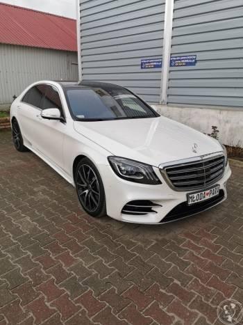 MSMflota - wynajem samochodów luksusowych - Mercedes S400d long, Samochód, auto do ślubu, limuzyna Kłecko
