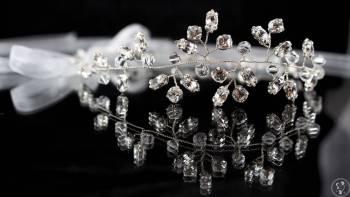 Selenit - biżuteria, ozdoby do włosów, Obrączki ślubne, biżuteria Jordanów