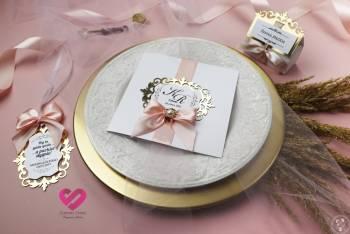 Stardust Studio - zaproszenia ślubne i dodatki, Zaproszenia ślubne Czyżew