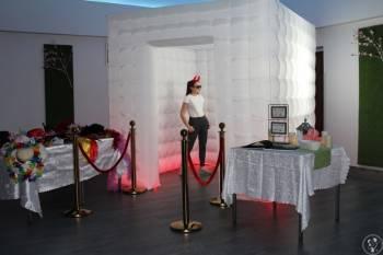 Fotobudka-Fotokabina LED/cieżki dym/napis , Fotobudka, videobudka na wesele Sieraków