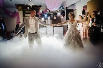 Zjawiskowy taniec w chmurach,  ciężki dym. Profesjonalna maszyna CO2!, Ciężki dym Wolin