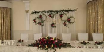 Dekoracje kościoła, sali weselnej, Dekoracje ślubne Łańcut