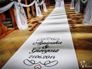 Biały dywan czerwony wynajem na śluby eventy,  Rzeszów