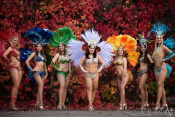 Samba Extrema! Pokazy Taniec Karnawał - Samba Latino LED Show, Pokaz tańca na weselu Łowicz