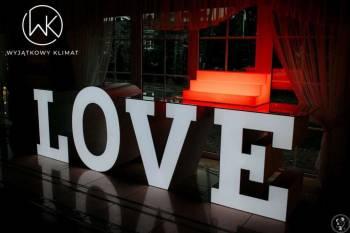 Napis LOVE - MIŁOŚĆ - Fontanny czekoladowe, Napis Love Kosów Lacki