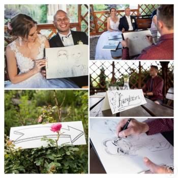 Karykaturzysta na weselu, Artysta Luboń