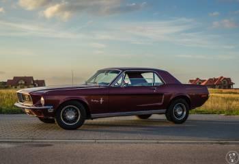 Przepiękny Ford Mustang 1968, Samochód, auto do ślubu, limuzyna Rajgród